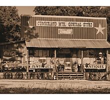 """Cumberland Mountain General Store""... prints and products Photographic Print"