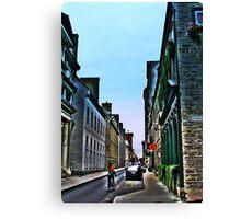 Rue De La Barricades  Canvas Print