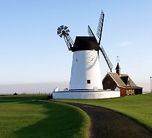 Lytham Windmill by JacquiK
