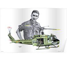 """Vietnam Warrior"" Poster"