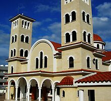 Ayios Anargyros church in Larnaca by Elly Rousou