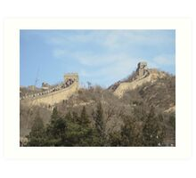 The Great Wall of China Art Print
