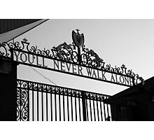 This is Anfield Photographic Print