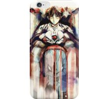 Shinji Evangelion Anime Tra Digital Painting  iPhone Case/Skin