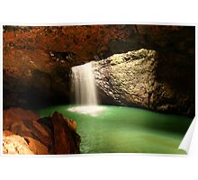 Natural Bridge Queensland Poster