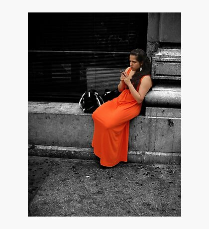 Beauty in an Ugly World Photographic Print