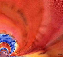 Red Sky by Caroline  Lembke
