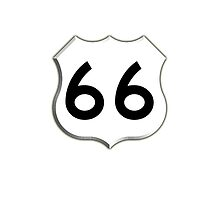 ROUTE 66, Get your Kicks on Route 66, US 66, USA, America, Will Rogers Memorial Highway by TOM HILL - Designer