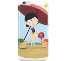 Heat Snow iPhone Case/Skin