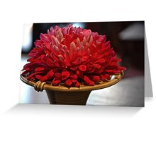 Floral Torch Greeting Card