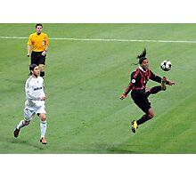 Ronaldinho is flying! Photographic Print