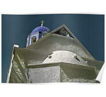 Church--Samos Greece Poster