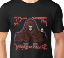 GRIM REAPER AND SIDE KICK/ I AM VERY FRIENDLY Unisex T-Shirt
