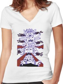 Something to belong to Women's Fitted V-Neck T-Shirt