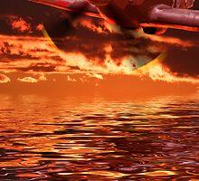 Hurricane Sundown - The Terminator !! by Colin J Williams Photography