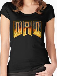 DAD Women's Fitted Scoop T-Shirt