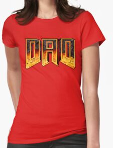DAD Womens Fitted T-Shirt