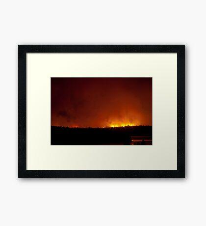 Wildfire! Framed Print