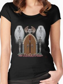 GOTHIC'S HANGOUT Women's Fitted Scoop T-Shirt