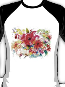 """ Watercolor garden II "" T-Shirt"
