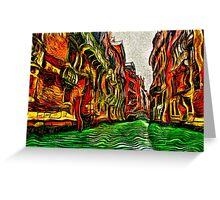 Venice Cloudy Day Fine Art Print Greeting Card