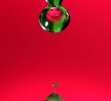 Smiley face droplets. by MayJ