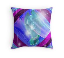 Have A Starlit Christmas Angel Throw Pillow
