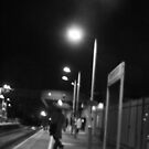 Late Night Train by Glenn Rickborn Jr.