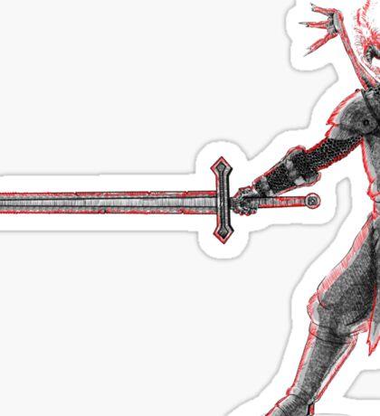 Cursed Knight Templar Sticker