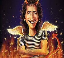 Bon Scott by andrekoeks