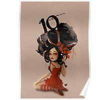 Girl 10 | Wild Hair Poster
