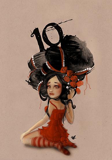 Girl 10 | Wild Hair by Erica Rosario