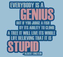 Everybody is a genius by bleucanard
