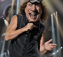 Brian Johnson by andrekoeks