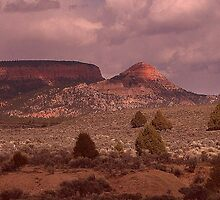 Utah Landscape. by Finbarr Reilly