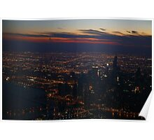 The Big City - Aerial Photography Poster