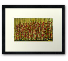 Rememberance day Framed Print