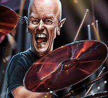 Chris Slade by andrekoeks