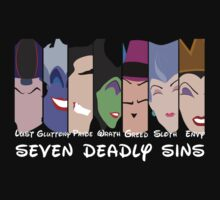 The Seven Deadly Villains  by Trisha Bagby