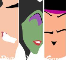The Seven Disney Sins Sticker