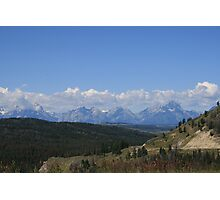 Grand Teton Mountains  Photographic Print