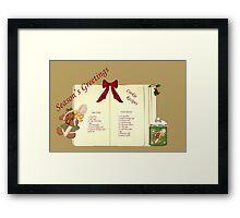 Christmas Season (#1) Framed Print