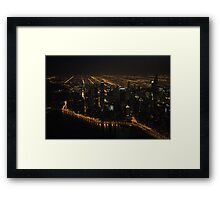 The Grand View - Aerial Photography Framed Print