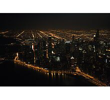 The Grand View - Aerial Photography Photographic Print