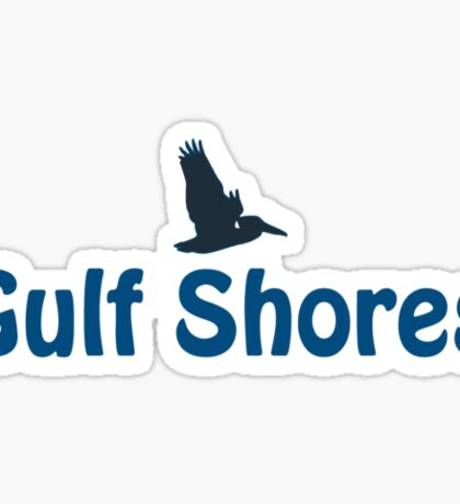 Gulf Shores - Alabama. Sticker