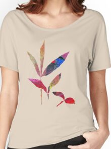 Leaf Collage One Women's Relaxed Fit T-Shirt