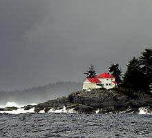 Coast Guard Station ~ Inside Passage, Canada ~ by lanebrain photography