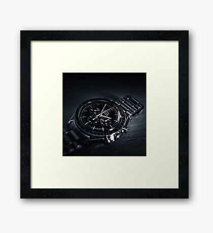 Watche the Time Framed Print