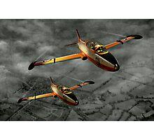 Aermacchi in Flight Photographic Print