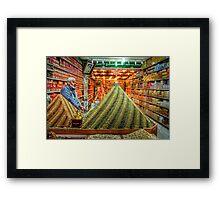 Jerusalem Spice Merchant  Framed Print